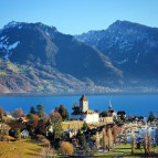 Spiez, Switzerland - one of the most lovely places that I
